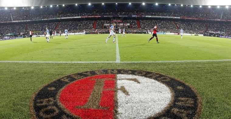 Feyenoord-fans boycotten wedstrijd na straf KNVB: 'Iedereen vindt pyro mooi'