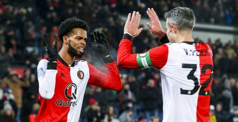 Feyenoord moet St. Juste voorlopig missen: 'Dat zal een aantal weken duren'