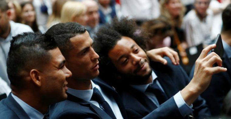 'Zidane grijpt in en wil hereniging Marcelo met Cristiano Ronaldo tegenhouden'