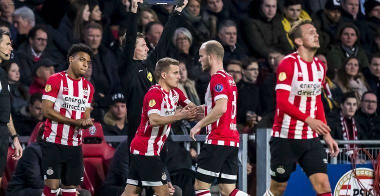 Perez schrikt van PSV: Zorgen dat er geen voorzetten komen, dat is alles''