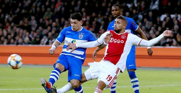 Pover Ajax door het oog van de naald: Blind redt Amsterdammers in slotfase