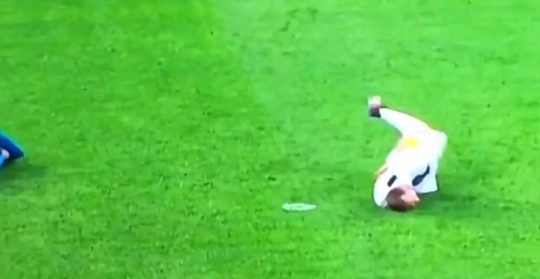 Stervende zwaan Chiellini zet zichzelf voor schut met slecht stukje amateurtoneel