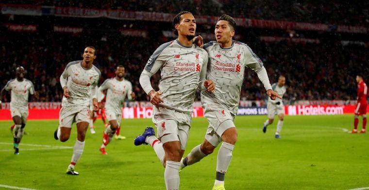 Liverpool veel te sterk voor Bayern dankzij uitblinkers Van Dijk en Mané