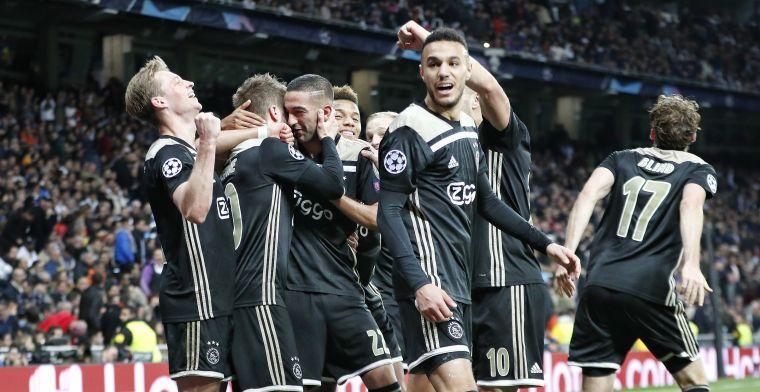 'Scouts van geïnteresseerd Valencia al weken op de tribune voor Ajax-speler'