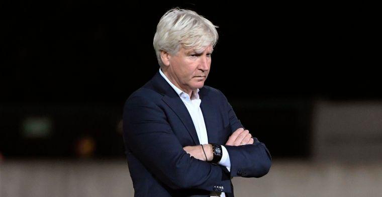 STVV-fans viseren Van Driessche, Brys steunt ref: 'Een hele goede scheidsrechter'