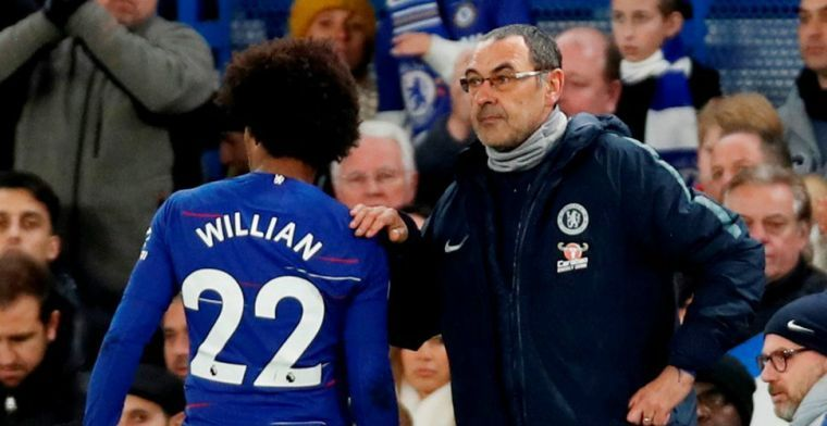 Willian hoopt dat zijn vriend blijft: Hazard is één van de besten ter wereld