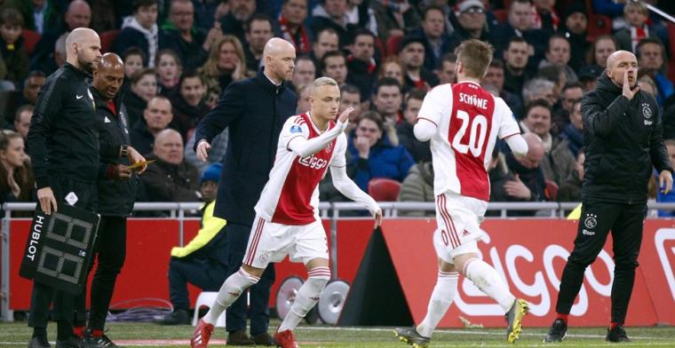 'Heb acht jaar bij Feyenoord gespeeld, maar ben al m'n hele leven voor Ajax'