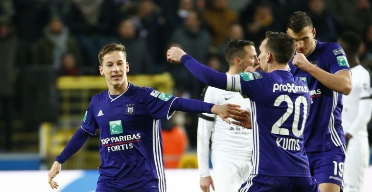 'Anderlecht wil contract openbreken, Europese clubs in de rij voor Verschaeren'