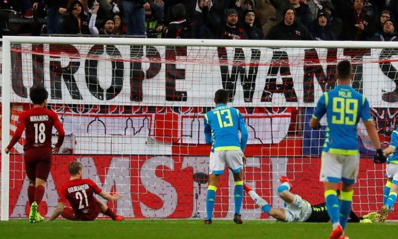 Afbeelding: Salzburg doet Nederlandse voetbal pijn, Giroud de grote man bij Chelsea