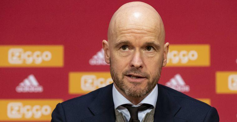 Ten Hag laat Ajax-spelers vrij: 'Uiteindelijk moeten ze hun eigen keuzes maken'