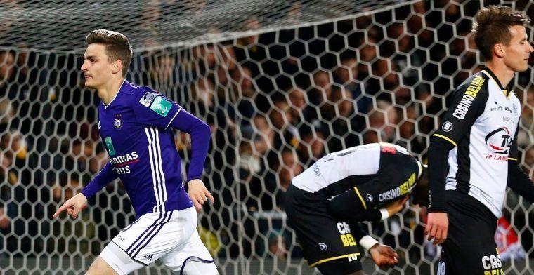 """Gerkens: """"De fans vinden dat ik het niet verdien bij Anderlecht te spelen"""""""