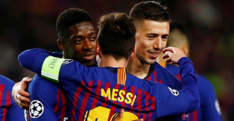 Zorgen bij Barcelona: Champions League-kwartfinale in gevaar voor aanvaller