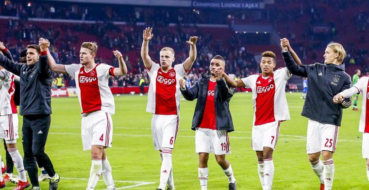 'Ik denk dat elke ploeg die nu Ajax loot, denkt:yes! We hebben een kans!'