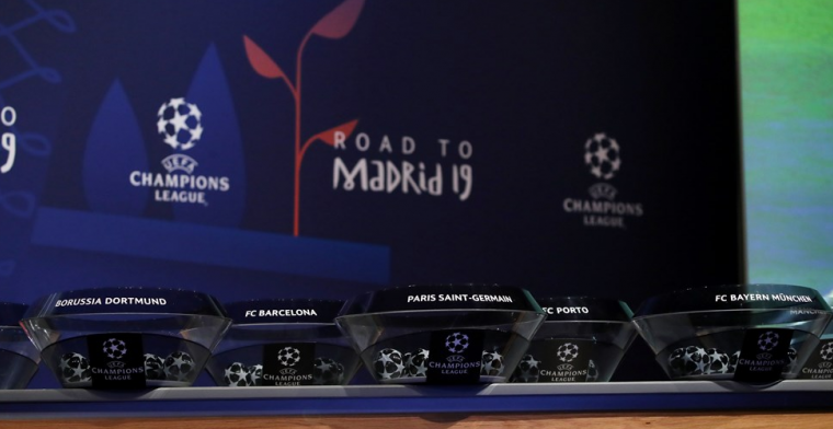 Ophef op social media: Champions League-loting 'gelekt', Ajax tegen Liverpool