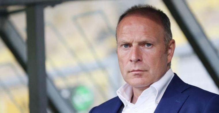 Molenaar woest op Jong Roda-trainer Van der Luer: 'Hij moet zijn bek houden'