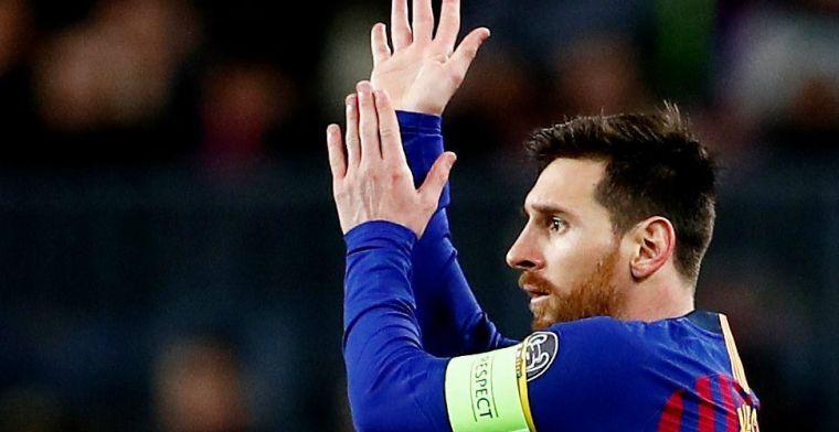 Messi wijst naar Ajax: 'Een geweldige groep talenten, voor niemand bang'
