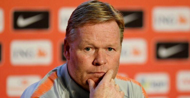 Koeman roept 25 spelers op voor Oranje-interlands tegen Wit-Rusland en Duitsland