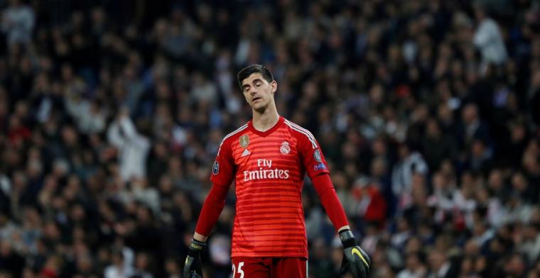 Marca: Courtois ontvangt waarschuwing van clubleiding Real Madrid