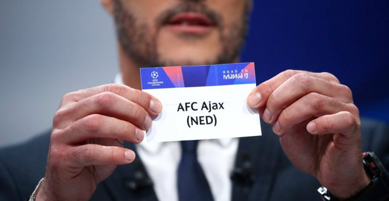 Loodzware loting: Ajax treft Juventus in kwartfinales Champions League