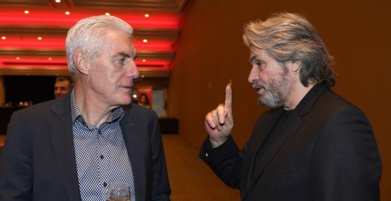 """Broos over Verheyen: """"Dat moet hij nog leren, maar hij wordt een topcoach"""""""