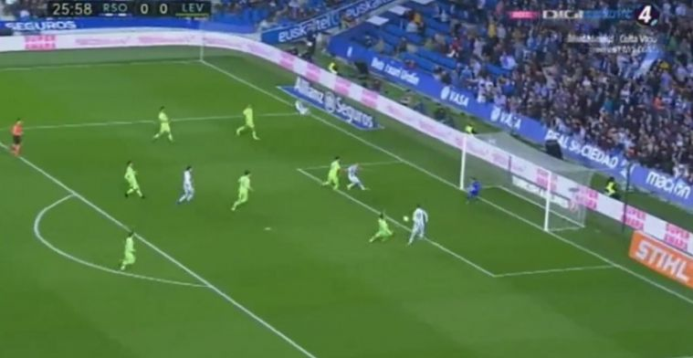 GOAL! Januzaj brengt Real Sociedad op voorsprong tegen Levante