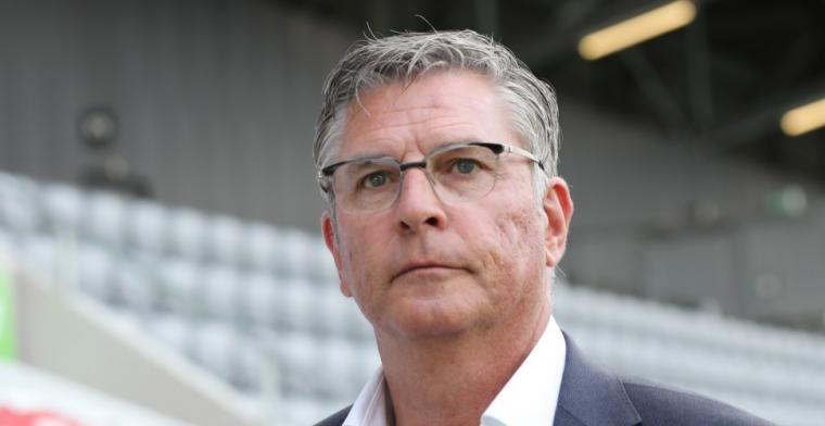 Van Geel bevestigt: Ik heb Louis drie keer gevraagd voor Feyenoord