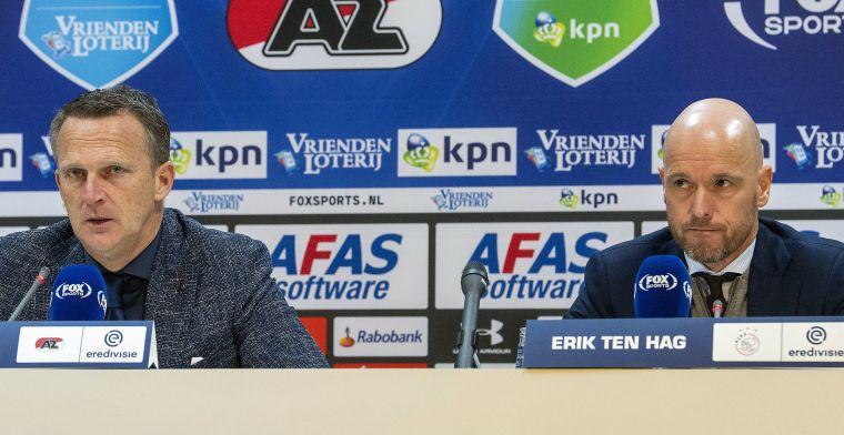 Ten Hag ziet slordig Ajax en 'pijnlijke' nederlaag: Een dreun