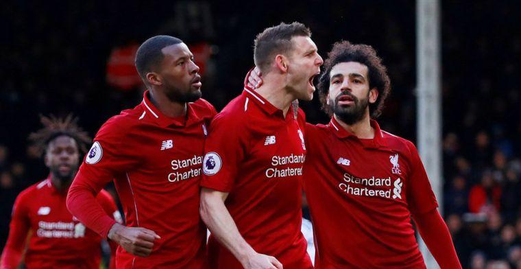 Liverpool schrikt wakker na goal Babel en krijgt penalty cadeau van Fulham-goalie