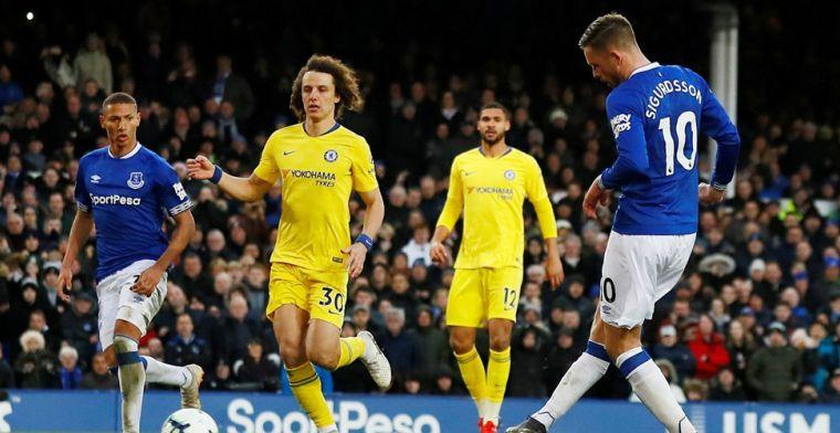 Doffe dreun op Goodison Park voor Chelsea: plek 6 in plaats van plek 4