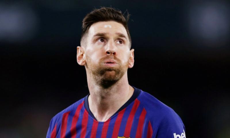 Afbeelding: Fans van tegenpartij staan op voor uitblinkende Messi:
