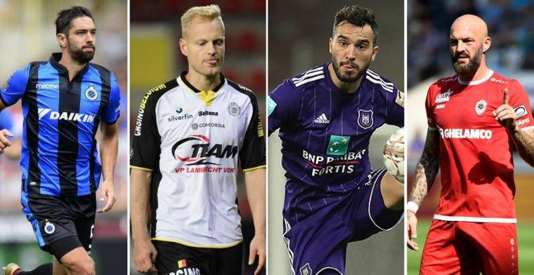 In de aanbieding: 108 spelers in de Jupiler Pro League hebben aflopend contract