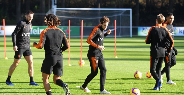 Training van Oranje toch niet open voor publiek door gebeurtenissen in Utrecht