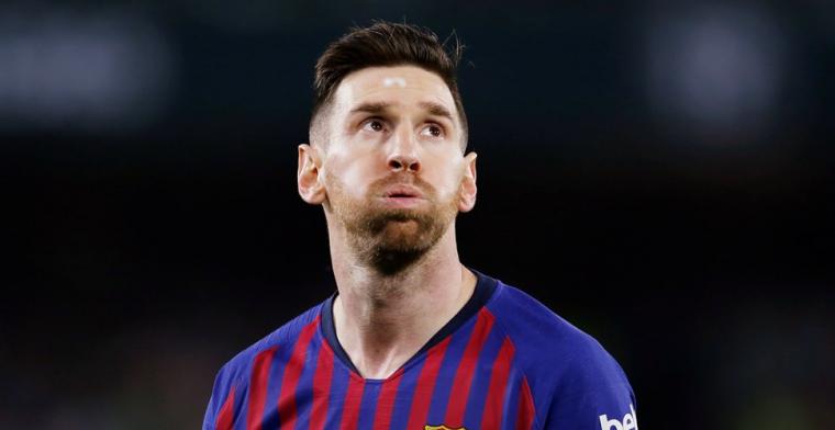 Messi krijgt staande ovatie van Betis-fans: Dit is me nog nooit overkomen