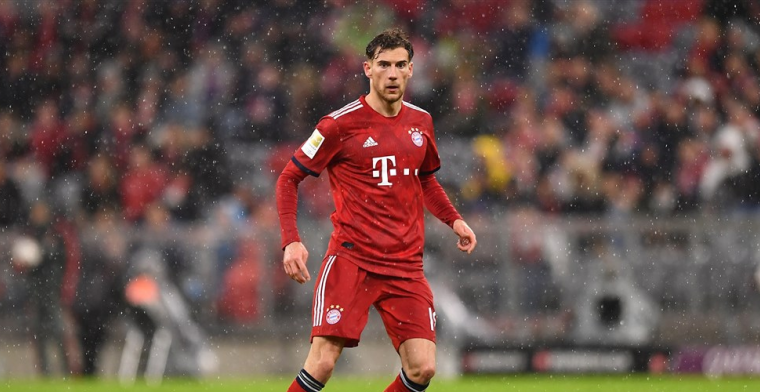 Bayern München breekt de regels: Goretzka draagt verkeerde shirt tegen Liverpool