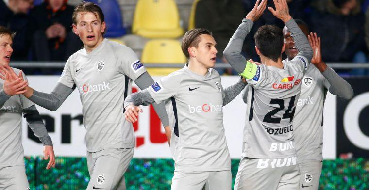 """KRC Genk baalt: """"Daardoor verdwijnt de aandacht voor ons goeie voetbal"""""""