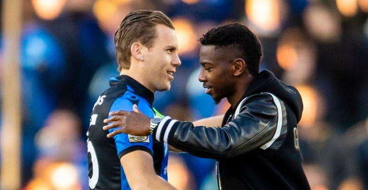 Diaby weer even in het Jan Breydelstadion: Mijn hart klopt voor Brugge