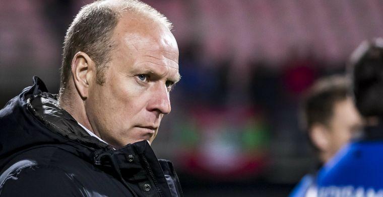Roda JC dumpt Molenaar: 'De laatste weken gaven gewoon weinig hoop'