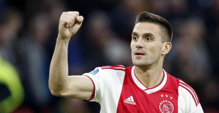 Tadic in Servische ziekenboeg: Ajax-aanvaller mist oefenduel met Duitsland