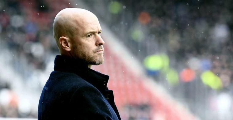 Verbeek wijst oorzaak van Ajax-verval aan: 'Ten Hag raakt niet de juiste snaar'