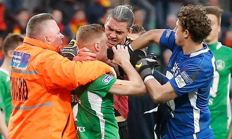 Afbeelding: 'Pleidooi van KV Mechelen om bier af te schaffen werkt niet, boete nummer 6 is er'