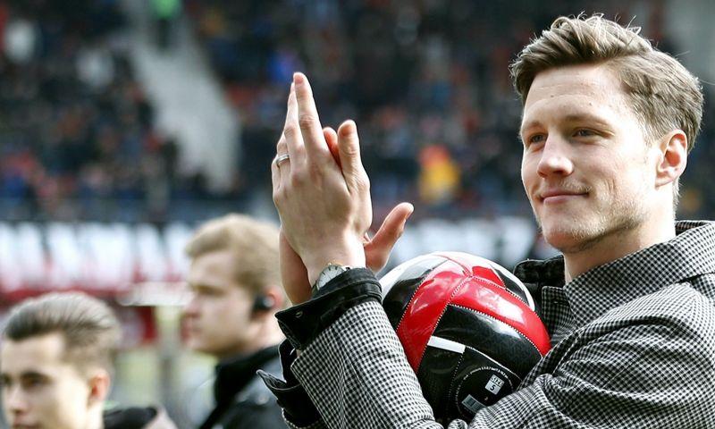 Afbeelding: Weghorst 'lijp' na clash met Utrecht-supporter: