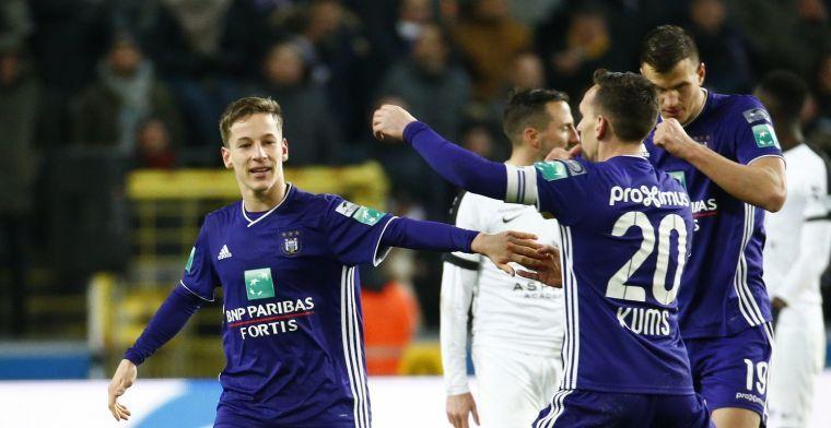 Walem bekijkt Anderlecht-talent Verschaeren nu al: Gek veel talent