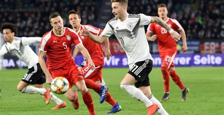 Duitsland reist na oefenwedstrijd zonder overwinning af naar Amsterdam