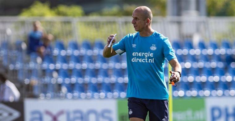 PSV houdt rechterhand Van Bommel aan boord: Erg tevreden over zijn inbreng
