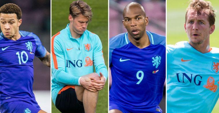 Memphis, De Jong, tóch Weghorst of Babel: wie hoort er in de spits bij Oranje?