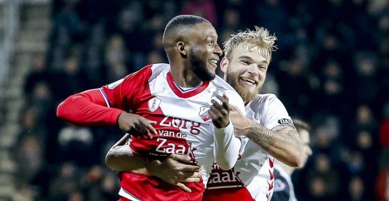 Tennisuitslag voor FC Utrecht tegen Duitse opponent: twee goals voor Bazoer