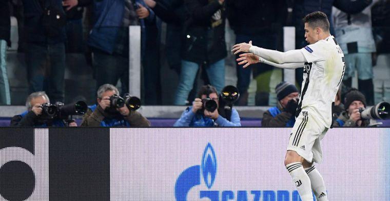 Ronaldo krijgt boete voor 'cojones-gebaar' en is er gewoon bij tegen Ajax