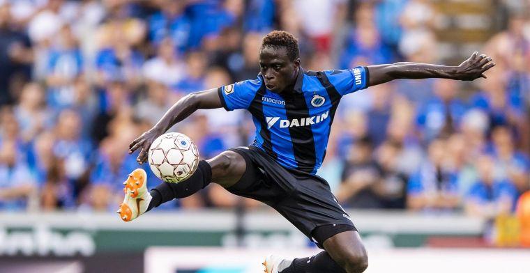 Diatta kende moeilijke periode bij Club Brugge: 'Ik denk dat ik ga sterven'