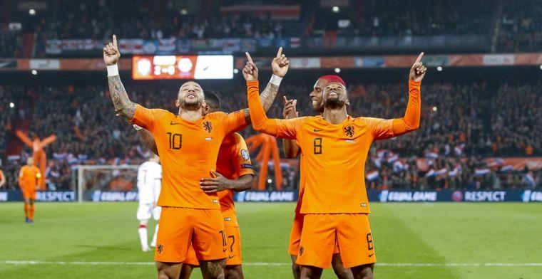 LIVE: Oranje dankt Memphis voor ruime zege op Wit-Rusland