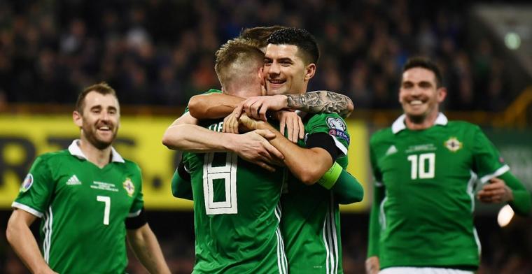 Oranje-tegenstander Noord-Ierland doet goede zaken, ook België begint goed